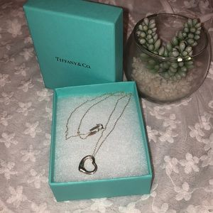 Tiffany & Co. Open 💜 necklace